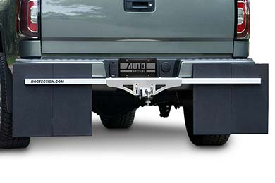 Hyundai Santa Fe Rockstar Roctection Hitch Mounted Mud Flaps