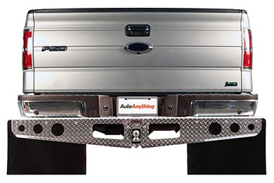 Ford F-350 Rockstar Universal Hitch Mounted Mud Flaps