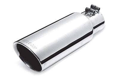 Dodge Caliber Gibson Round Angle Cut Double Wall Exhaust Tip