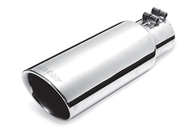 GMC Sierra Gibson Round Angle Cut Double Wall Exhaust Tip