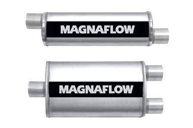 MG Midget Magnaflow XL Turbo Mufflers