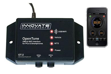 Cadillac CTS Innovate Motorsports OT-2 OBD-II Scanner & WiFi Interface