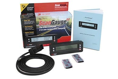Mini Cooper ScanGauge OBD II Scanner