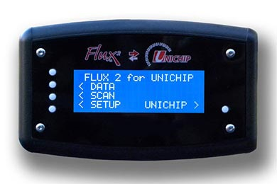Unichip Flux2 In Car Display