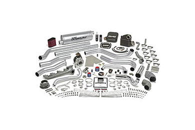 Ford F-350 Banks Sidewinder Turbo System