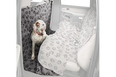 Acura RL Canine Covers Crypton Paw Print Suede CoverAll Seat Protector