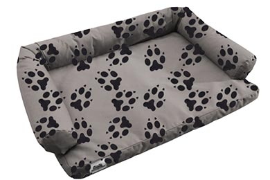 Hummer H3 Canine Covers Crypton Paw Print Ultimate Dog Bed