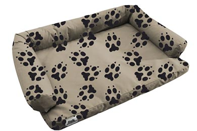 Lexus GX 460 Canine Covers Crypton Paw Print Ultimate Dog Bed