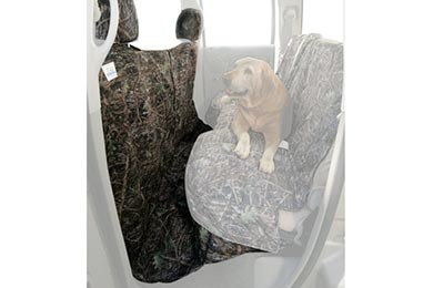Toyota Tacoma Canine Covers True Timber Camo Canvas CoverAll Seat Protector