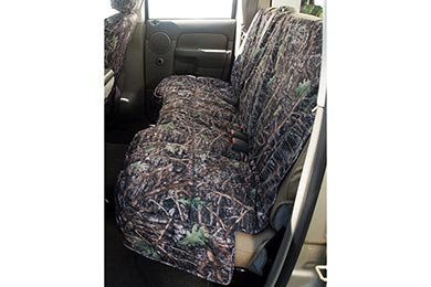 Chrysler Aspen Canine Covers True Timber Camo Custom Canvas Seat Covers