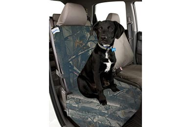 Chrysler Aspen Canine Covers True Timber Camo Semi-Custom Canvas Bucket Seat Cover