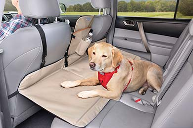 Kurgo Backseat Dog Bridge Car Seat Extender