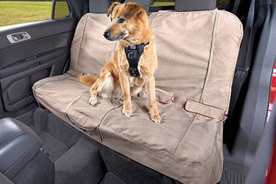 BMW X3 Kurgo Heather Bench Seat Cover