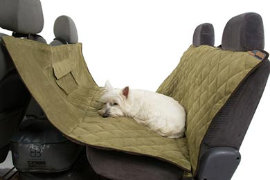 BMW X3 PetEgo Animal Basics Velvet Seat Hammock