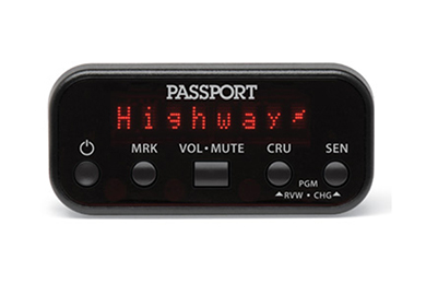 Kia Rio Escort PASSPORT 8500ci Plus Radar Detector