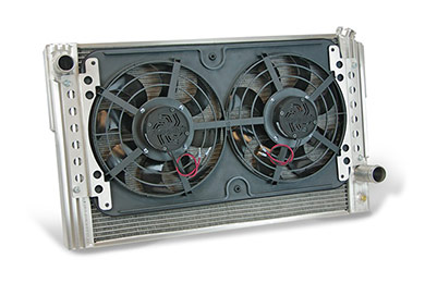 flex a lite flex a fit aluminum radiator electric cooling fan