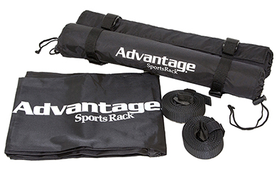 Subaru Impreza Advantage SportsRack Roof Top Cargo Cushions