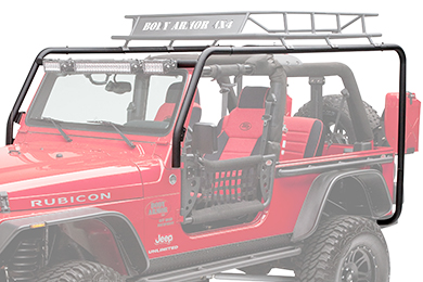 Jeep Wrangler Body Armor Cargo Rack System