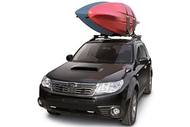 Toyota Land Cruiser INNO Dual Kayak Rack