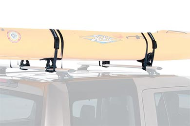 Volvo XC70 Rhino-Rack Nautic Series Canoe & Kayak Carrier