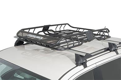 Mini Cooper Rhino-Rack Roof Mount Cargo Basket