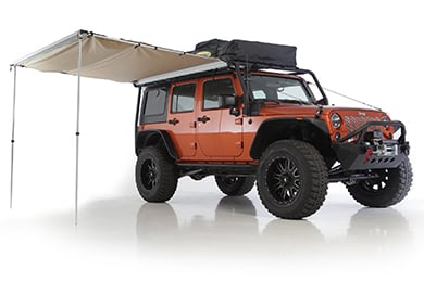 Ford Fusion Smittybilt Overlander Awning
