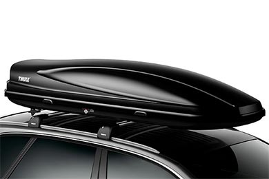 Audi S4 Thule Force Cargo Box