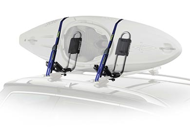 Audi S4 Thule Hull-A-Port Kayak Carrier