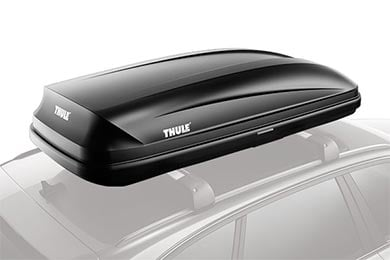 Audi S4 Thule Pulse Cargo Box
