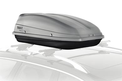 Audi S4 Thule 682 Sidekick Roof Cargo Box