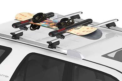 Acura TL Yakima FatCat EVO Ski & Snowboard Rack