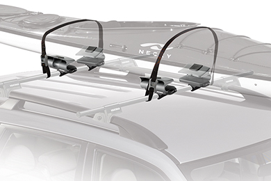 Toyota Land Cruiser Yakima EvenKeel Kayak Rack