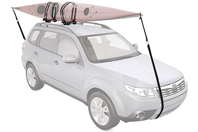 Jeep CJ Yakima JayLow Foldable Kayak Rack