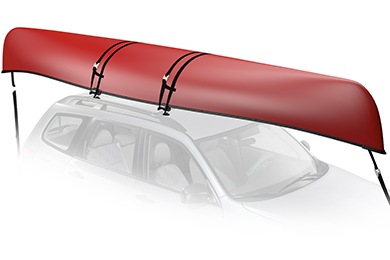 Toyota Land Cruiser Yakima KeelOver Canoe Carrier