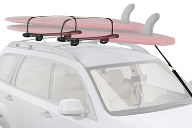 Volvo XC90 Yakima SUPPup Paddleboard Rack