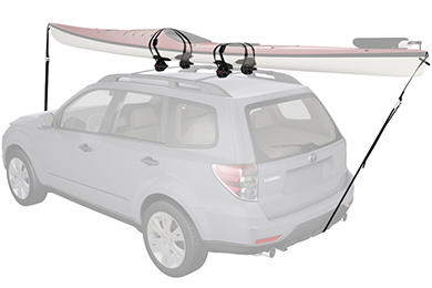 Honda Element Yakima SweetRoll Roller Kayak Rack
