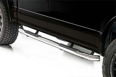 "Jeep Patriot Aries 3"" Round Nerf Bars"