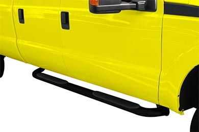 "Ford F-350 ProZ 4"" Premium Angled Oval Nerf Bars"