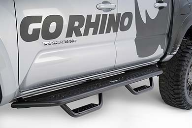 GMC Canyon Go Rhino Dominator D6 Drop Step Running Boards