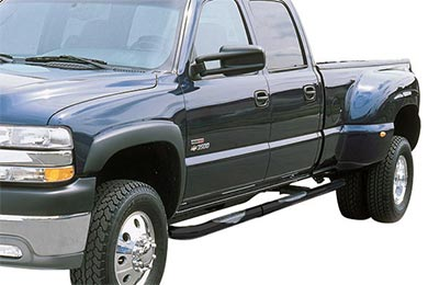 "Ford F-350 Go Rhino 3"" 6000 Series Round Nerf Bars"