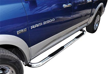 "Ford F-250 Go Rhino 3"" 4000 Series Round Nerf Bars"
