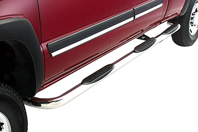 "Dodge Dakota ICI 3"" Round Nerf Bars"