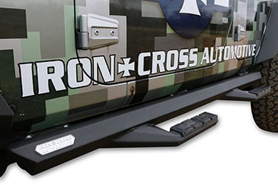 Toyota Tundra Iron Cross Side Arm Step Bars