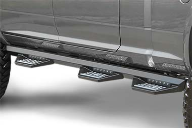 Chevy Silverado Iron Cross HD Series Step Bars