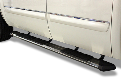 Ford F-250 Iron Cross Patriot Running Boards