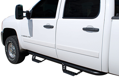 "Ford F-250 Luverne Baja Step 3"" Round Nerf Bars"