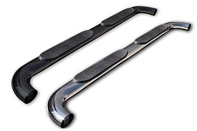 "Ford F-250 ProZ 4"" Premium Angled Oval Nerf Bars"