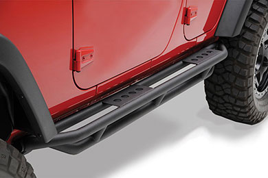 Jeep Wrangler Smittybilt SRC Classic Rock Rails
