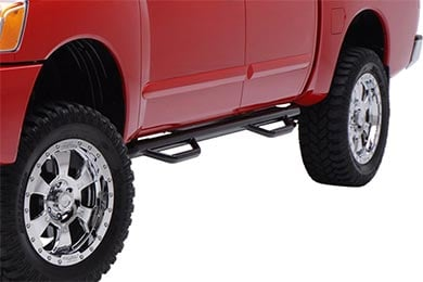 "Ford F-350 Smittybilt 3"" Round Step Nerf Bars"