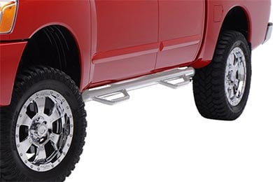 "Ford F-250 Smittybilt 3"" Round Step Nerf Bars"